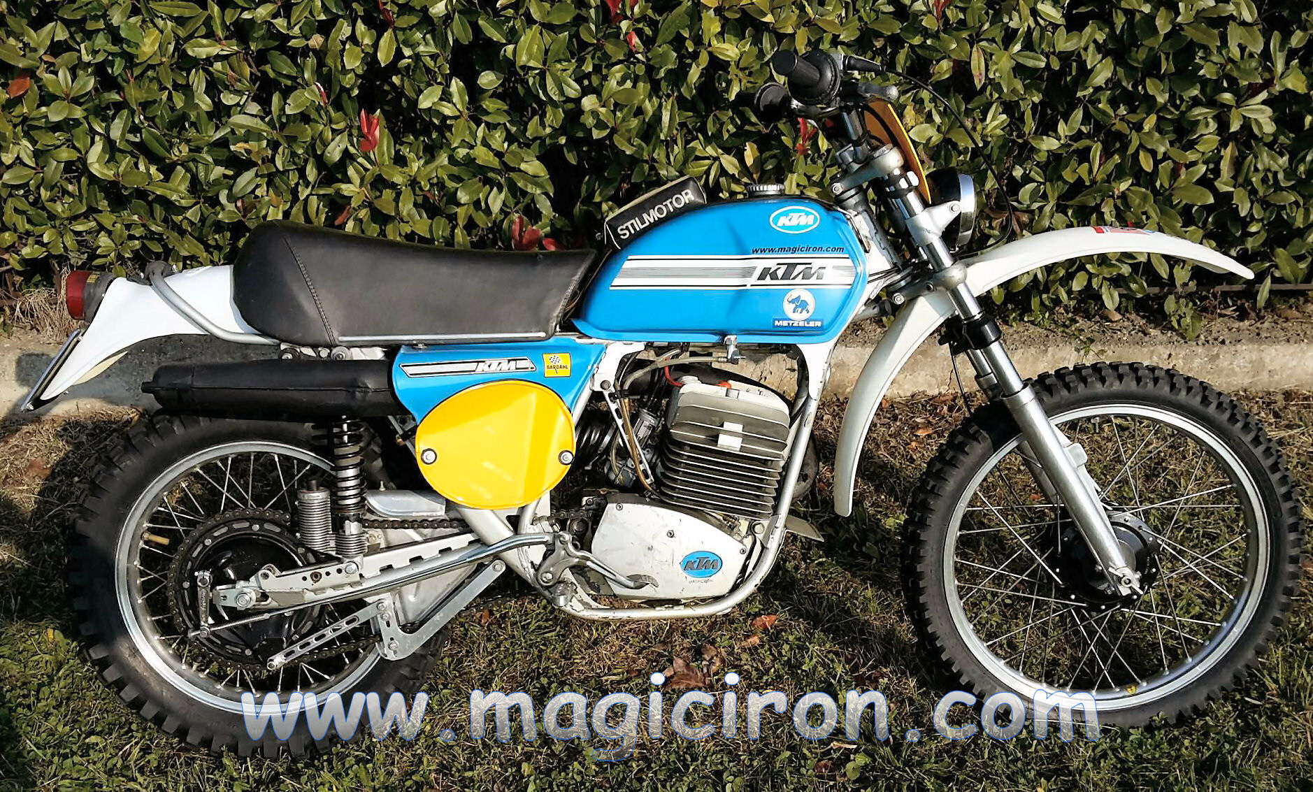 Ktm 175 1975 for Restauro conservativo