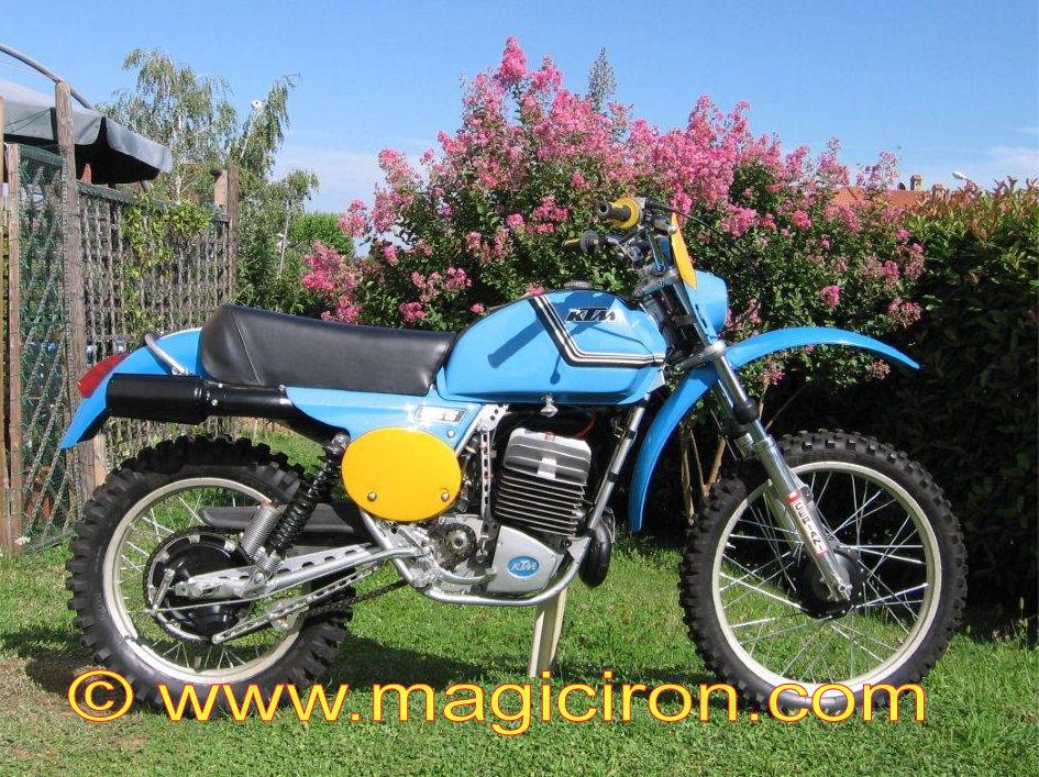 Ktm >> KTM 250 GS 1977